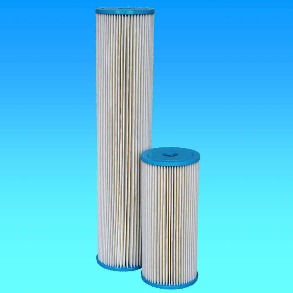 Pleated Sediment Washable