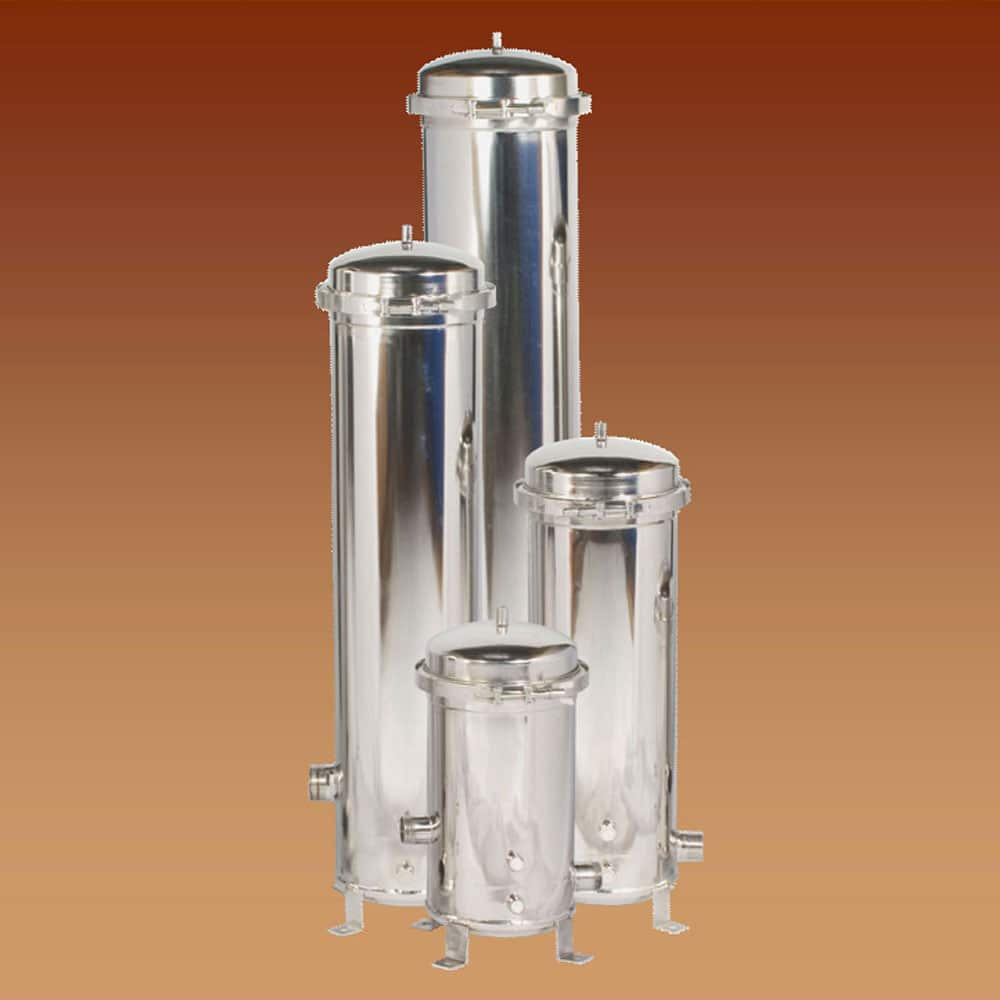 Water Filter Clean, Stainless Steel Cluster Filter Housings