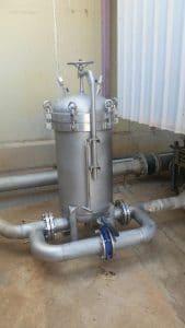 high pressure sediment filter, Fresh Water Tank Sanitisation,