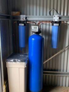 Water Tank Sanitisation, water softening